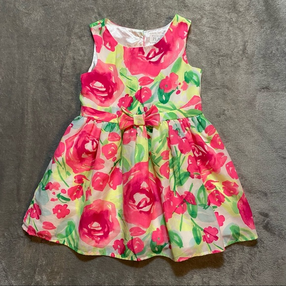 The Children's Place Floral Summer Dress Very Cute